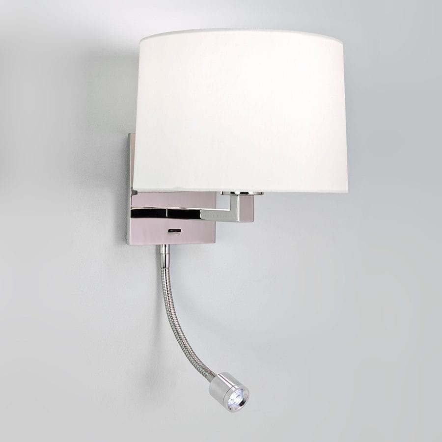 Azumi LED Classic Polert Nikkel u/Skjerm-63070