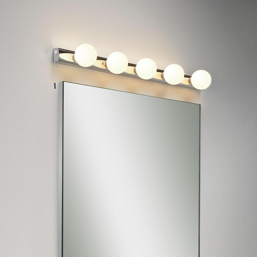 Baderomslampe Over Speil