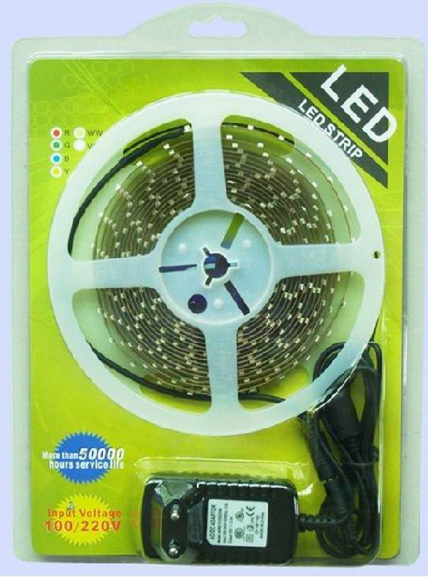 Flex LED varmhvit 5meter 14,5w pr.m-0