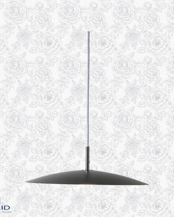 Arc LED Taklampe 29 cm Blank Sort-0