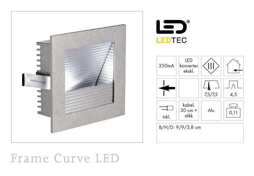 Frame Curve LED Varmhvit-35764