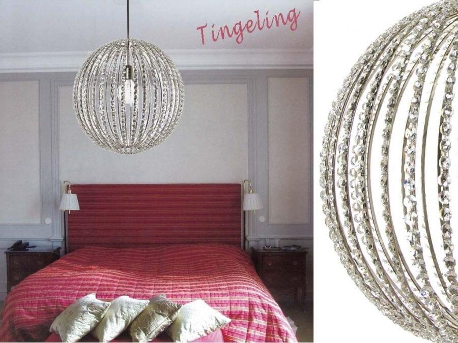 Design Tingeling Globe Nikkel, 440b-0