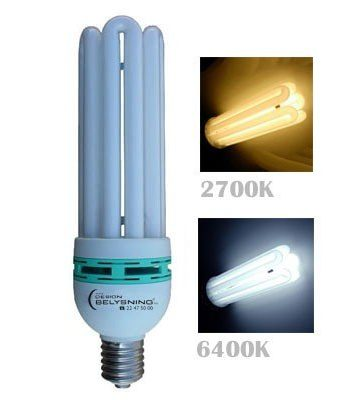 125W High Power CFL E40-0