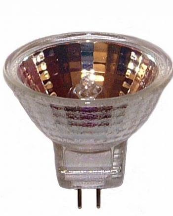 8W GU5,3 12V Reservepære Halogen m/Reflektor-0