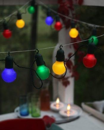 Hooky LED Party Lysslynge 20 Lys Multifarget-0