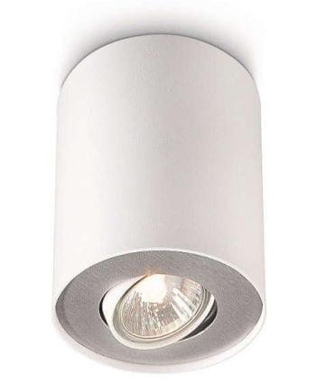 Philips myLiving Pillar Singel Spot Hvit-0