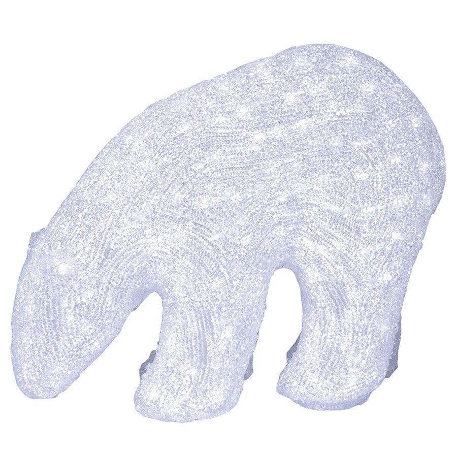 Isbjørn Crystal LED 42cm-41989