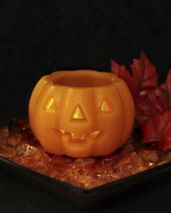 Halloween Gresskar LED 6,5 cm-0