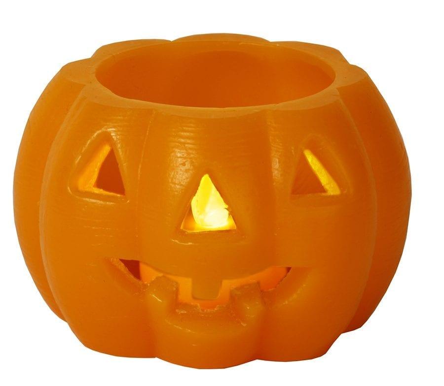 Halloween Gresskar LED 6,5 cm-41827