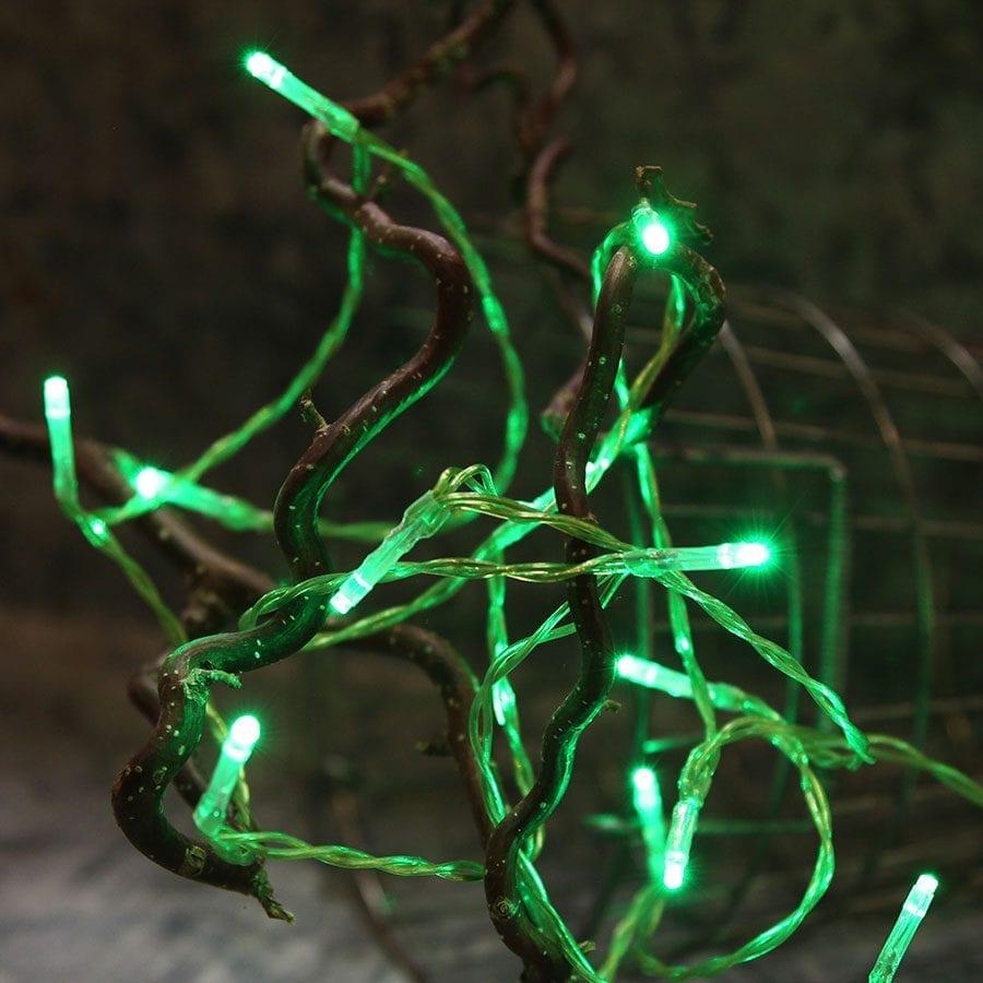 Batteridrevet LED Lysslynge 15 Lys-60935