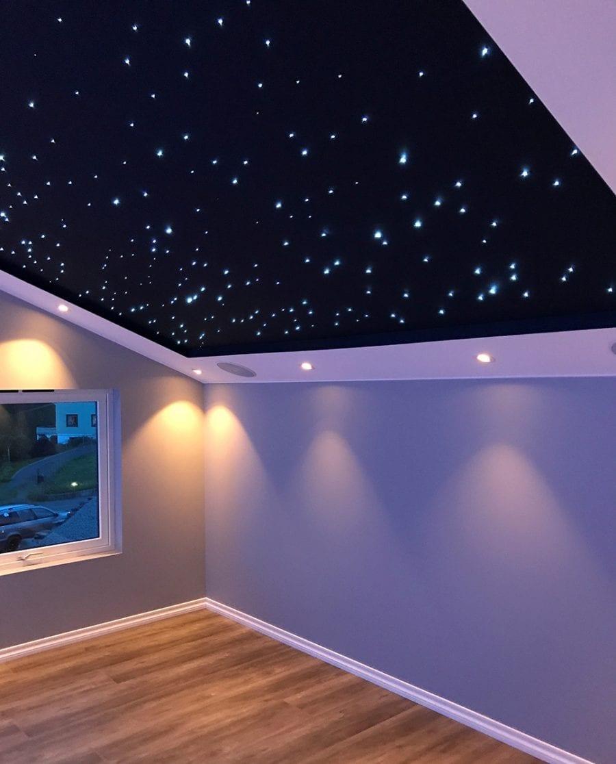 Fiberoptikk 3W LED 120 stjernepunkter-70314