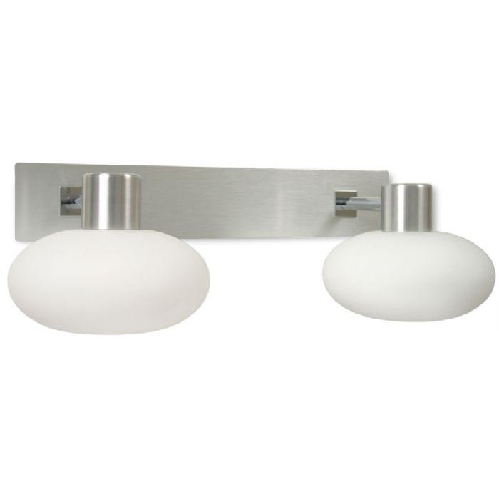 Curling Vegglampe Dobbel-43740