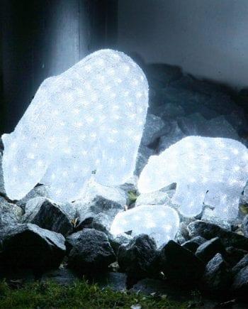 Isbjørn Crystal LED 22 cm-0