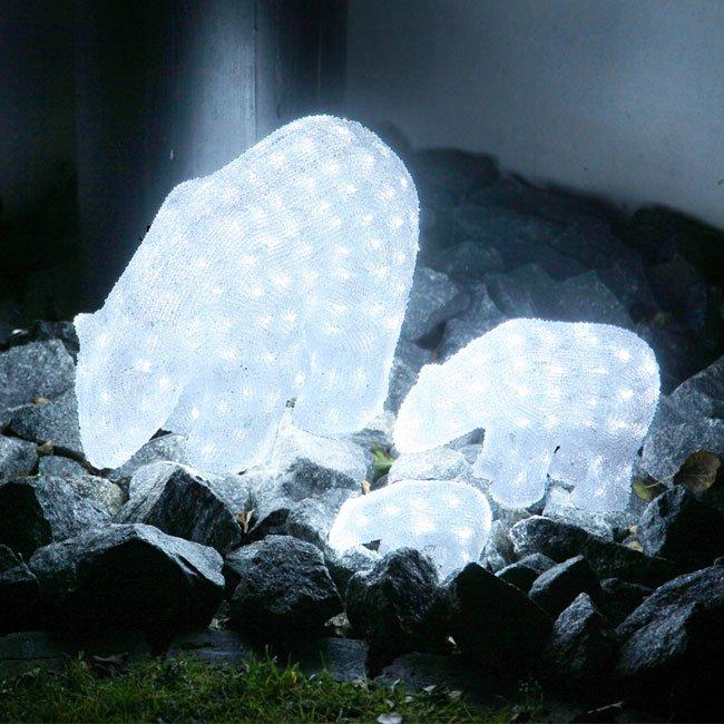 Isbjørn Crystal LED 42cm-33982