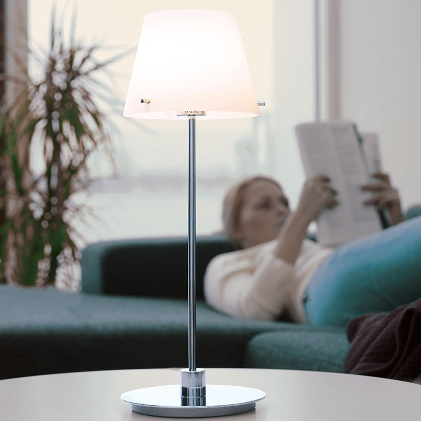 Herstal New Gil II Grande Bordlampe-0