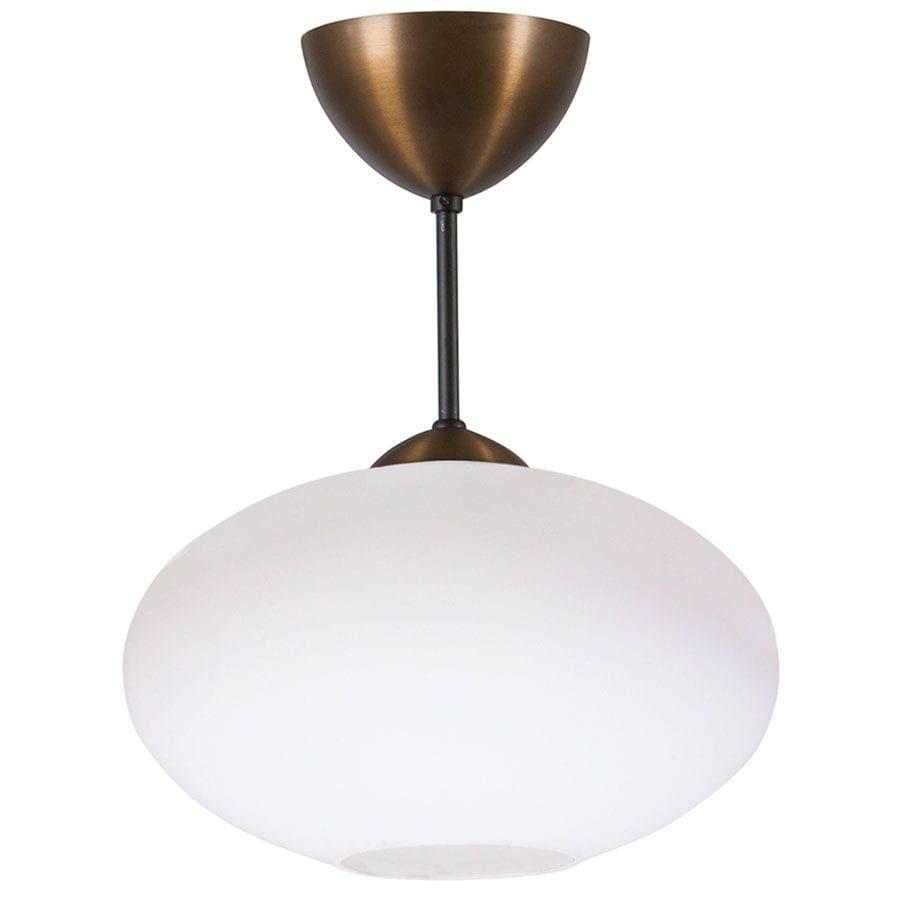 Bullo Nedpendlet Taklampe Klart / Opalt Glass-60206