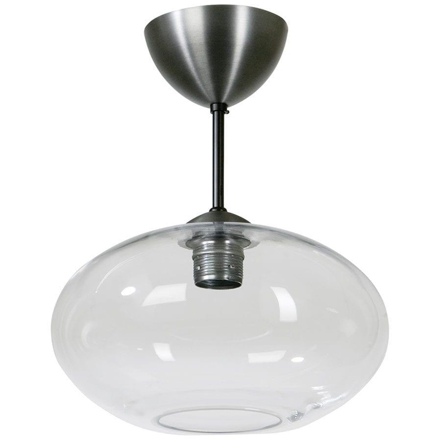 Bullo Nedpendlet Taklampe Klart / Opalt Glass-60208