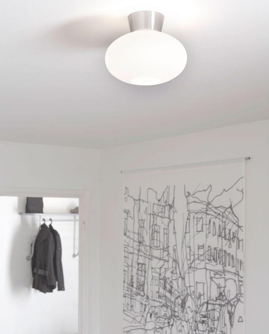 Bullo Plafond Opalt Glass-0