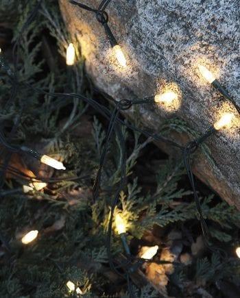 Utendørs LED Lysslynge 80 Lys Varmhvit-0
