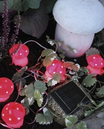 LED Solar Energy Mushrooms-0