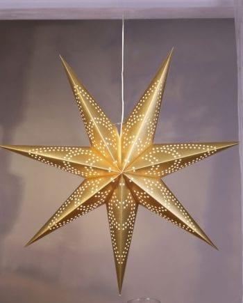 Blomma Papirstjerne Gull 100 cm-0