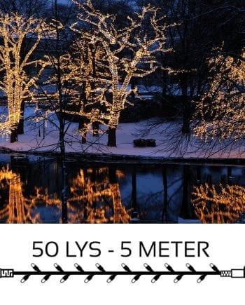 System LED Lysslynge Extra 50 Lys 5m Varmhvit-0