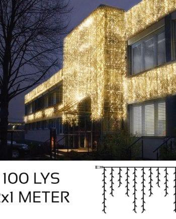 System LED Istapp Extra 100 Lys 2x1m Varmhvit-0