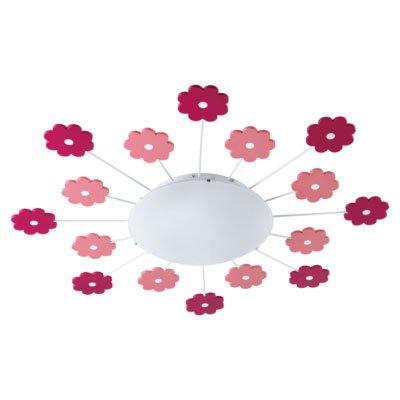 Viki 1 Vegg-/Taklampe Blomster-58419