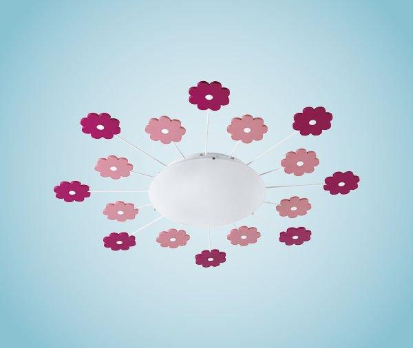 Viki 1 Vegg-/Taklampe Blomster-35167
