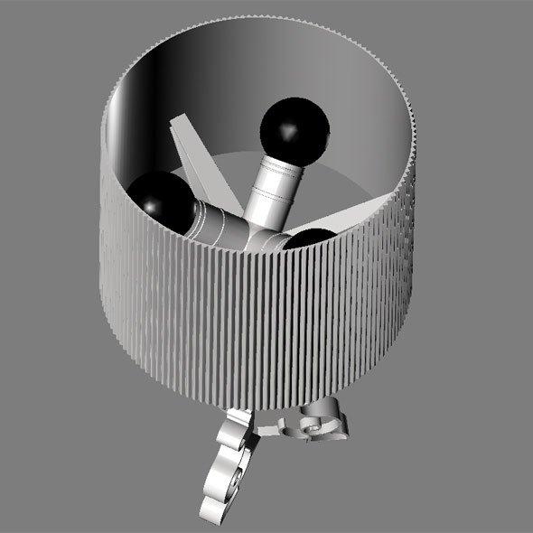 Kartell Bourgie Metallic Bordlampe-31841