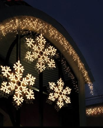 Snowflake LED Silhuett 100cm-0