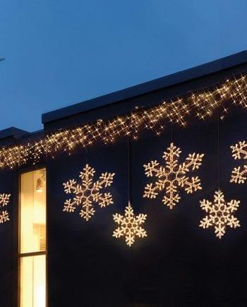 Snowflake LED Silhuett 50cm-0
