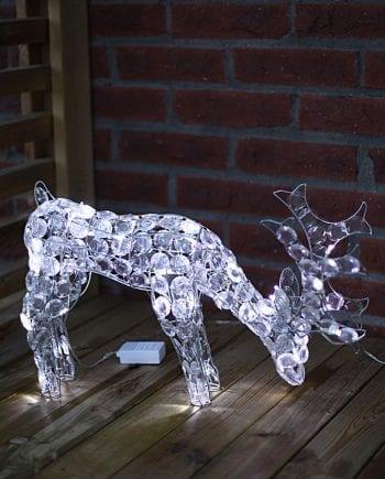 LED Reinsdyr Ned 34 cm-0