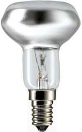 40W E14 R50 Reflektor/Parabol pære-0