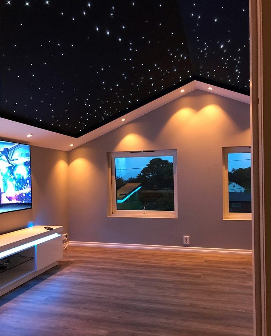 3W LED Stjernehimmel 165 punkter-0