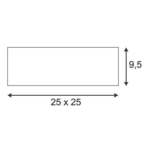 GL 104 E27 Gips Taklampe-30116