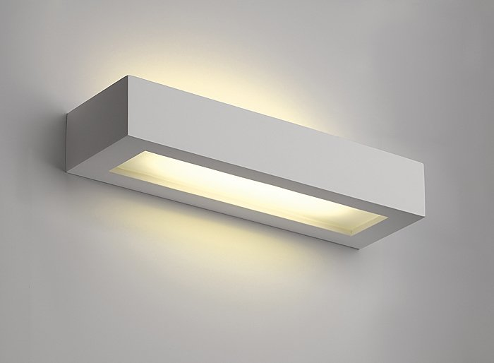 GL 103 T5 Gips Vegglampe-30111