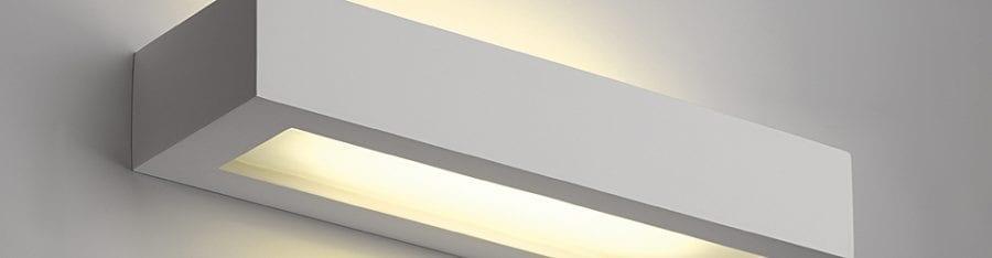 GL 103 T5 Gips Vegglampe-30112