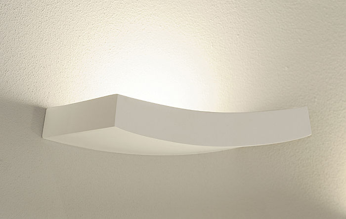 GL 102 Curve Gips Vegglampe-30106