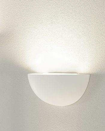 GL 101 E14 Gips Vegglampe-0