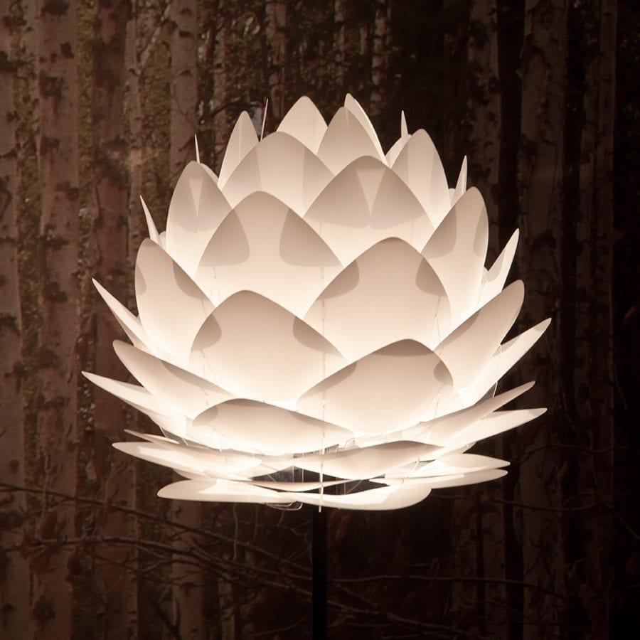 VITA Silvia Medium Lampeskjerm Hvit-44456