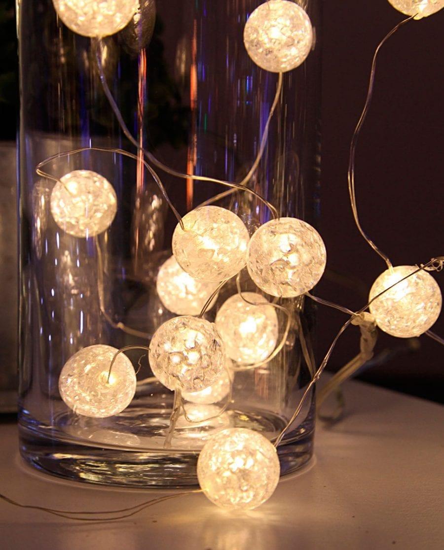 Marble Batteridrevet LED Lysslynge 15 Lys-66604