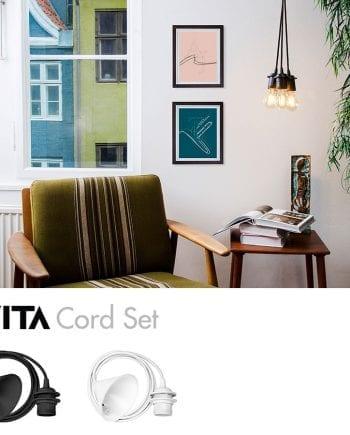 VITA Cord Set Stoffledninger-0