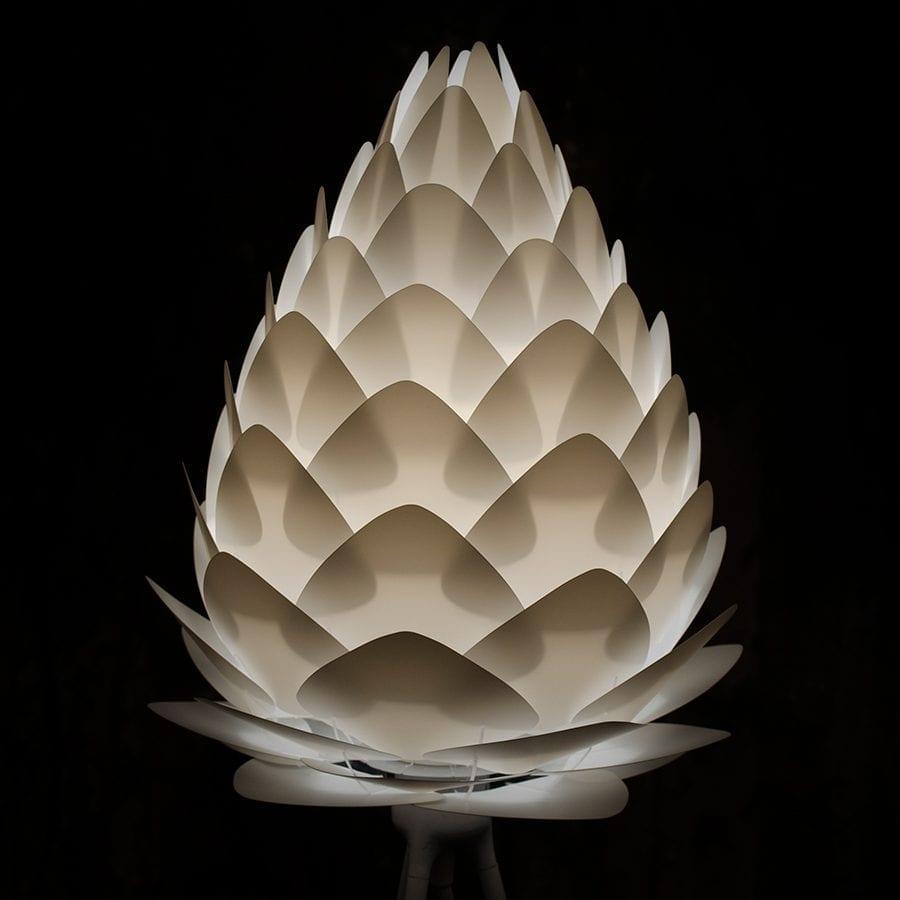 VITA Conia Medium Lampeskjerm Hvit-44524