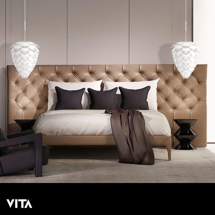 VITA Conia Medium Lampeskjerm Hvit-60306