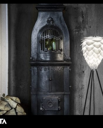 VITA Conia Medium Lampeskjerm Hvit-0