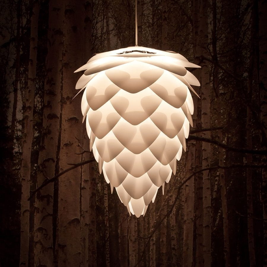 VITA Conia Mini Lampeskjerm Hvit-44554