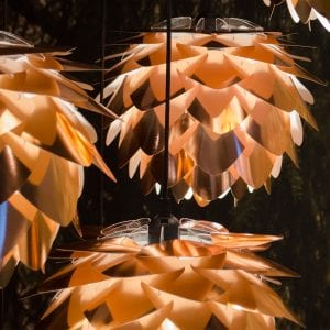 VITA Silvia Medium Lampeskjerm Kobber-44483