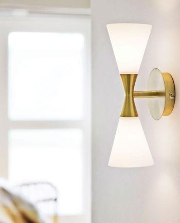 Herstal Harlekin Duo Vegglampe-0