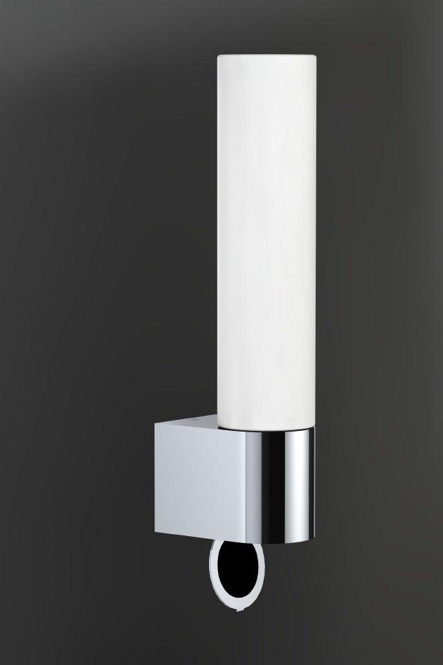 Tube vegg Baderomslampe med stikkontakt-29271